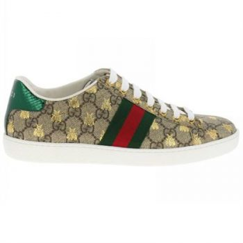 GUCCI ACE GG SUPREME SNEAKER WITH BEES - GCC001