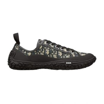 """""""B28 Low-Top Sneaker Beige And Black Dior Oblique Jacquard And Black Rubber - Cdo043"""""""