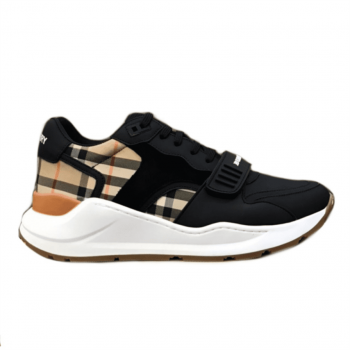 Burberry Regis Check Lace-Up Sneaker - Bbr13
