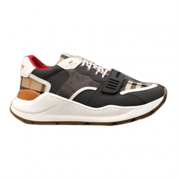Burberry Regis Check Lace-Up Sneaker - Bbr16