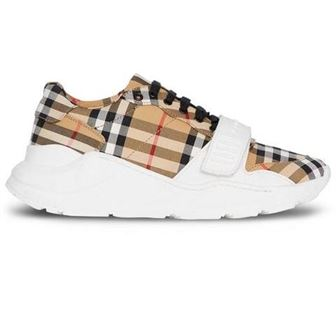 BURBERRY VINTAGE CHECK COTTON SNEAKER - BBR07