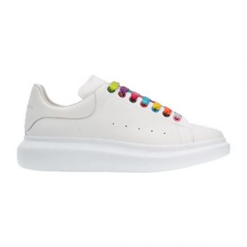 Alexander Mcqueen Multicoloured Laces Chunky Sneakers - Am066