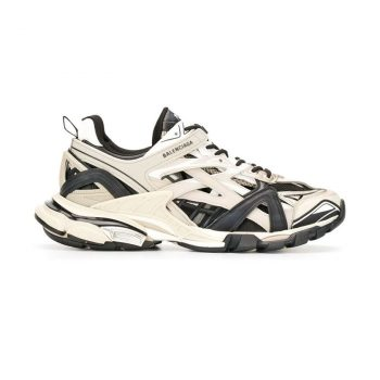 Balenciaga Track 2 Sneakers In Grey And Black - Bb036