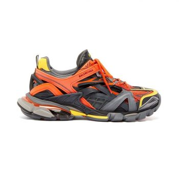 Balenciaga Track 2 Sneakers In Red And Yellow - Bb045