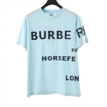 Burberry Horseferry Print Cotton Oversized T-Shirt - BBR030