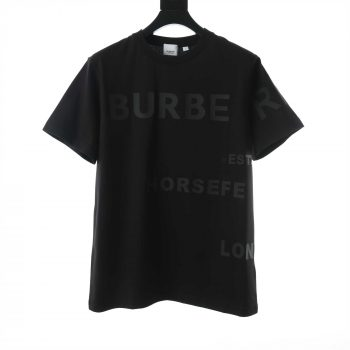 Burberry Horseferry Print Cotton Oversized T-Shirt - BBR040