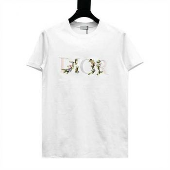 Dior Embroidery Flower T-Shirt - CDS043