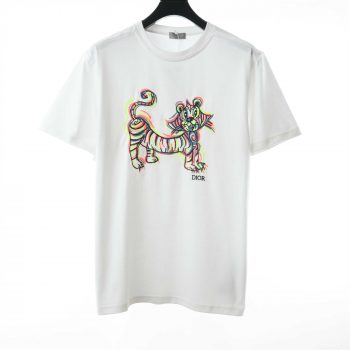 Dior Embroidery Tiger T-Shirt - CDS024