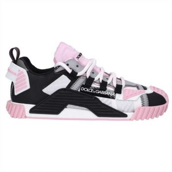 """"""" Dolce And Gabbana Ns1 Mesh & Suede Sneakers - Dg026"""""""