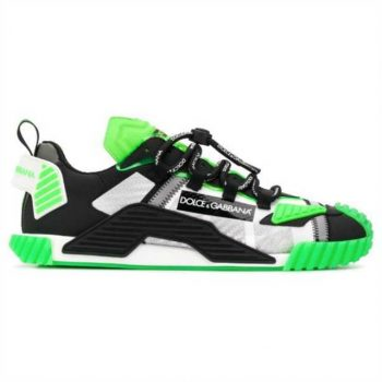 """"""" Dolce And Gabbana Ns1 Mesh & Suede Sneakers - Dg028"""""""