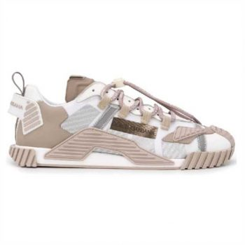 """"""" Dolce And Gabbana Ns1 Mesh & Suede Sneakers - Dg029"""""""