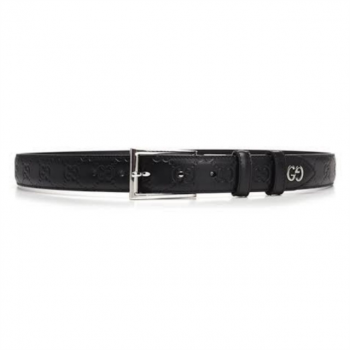 Gucci Signature Belt With Gg Detail - BG06