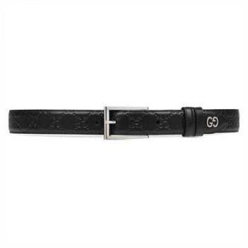 Gucci Signature Belt With GG Detail - BG39