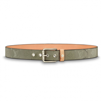 Louis Vuitton Belt Voyager Monogram 35mm Grey - Available with prices $110-$130.