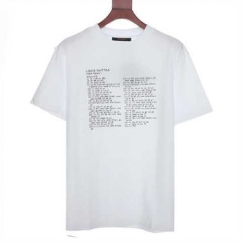 Louis Vuitton Printed Front And Back T-Shirt - Lts047