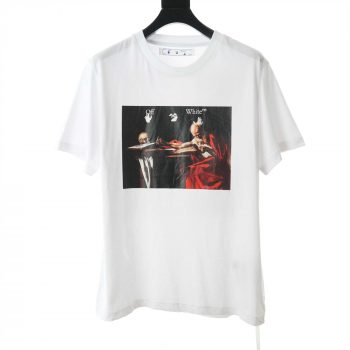 Off White Caravaggio S/S Oversized T-Shirt - OFW015