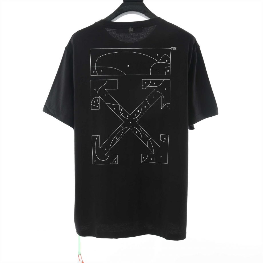 Off White Digital Map T-Shirt - OFW026