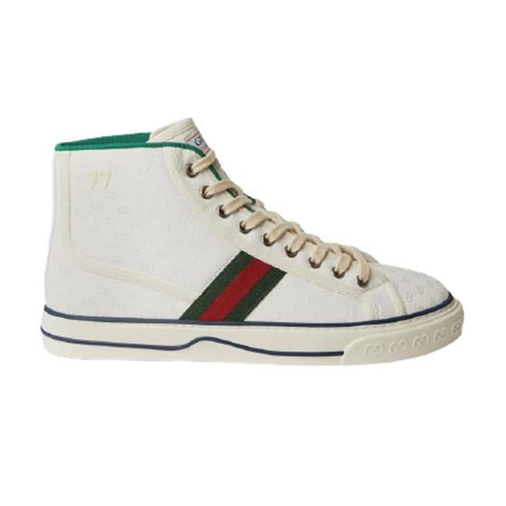 White Gucci Off The Grid High Top Sneaker - Gcc035