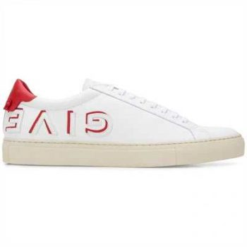 Givenchy Low Sneaker In Leather - G34V