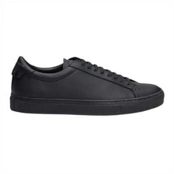 Givenchy Urban Street Low-Top Leather Trainers Triple Black - G31V
