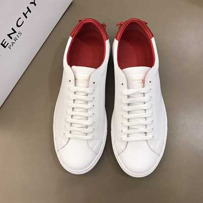 Givenchy White Urban Leather Sneakers - G30V