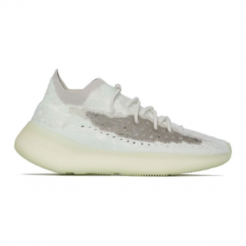 White Adidas Yeezy Boost 380 Calcite Glow Sneakers - Aidd27